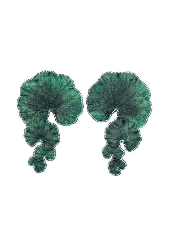 Emmanuel Tarpin - Geranium Earrings