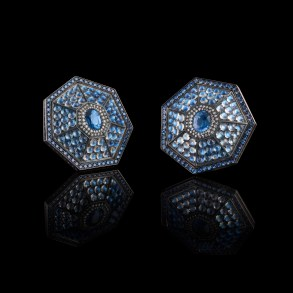 Heptagon earrings - Oselieri-Racine