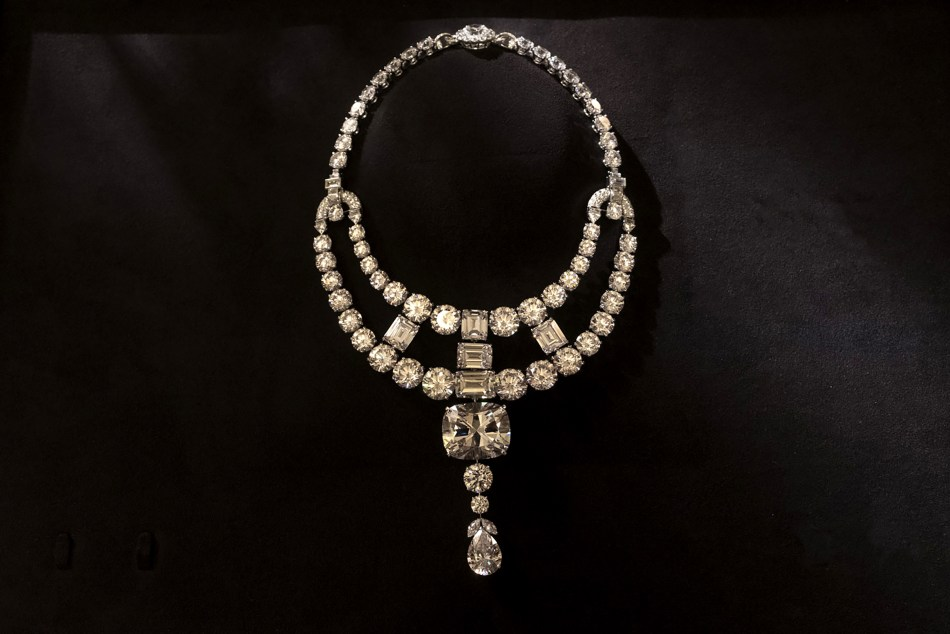 The Toussaint Necklace as recreated for Ocean's 8 Movie.