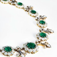 Tiffany & Co. 19th-century emerald necklace