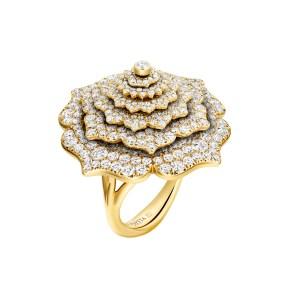 GemGenève - Caspita Tourbillon Ring with diamonds