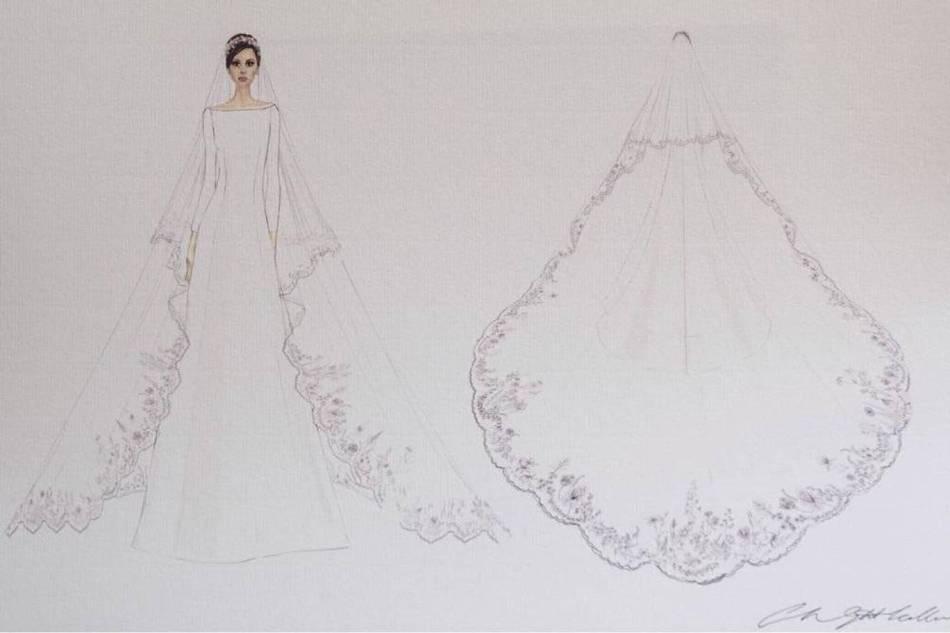 Meghan Markle wedding dress (kensignton palace)