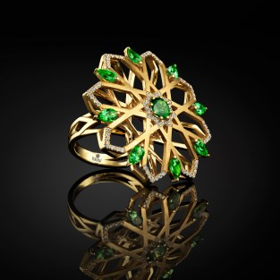 Sara Peymanpour Golbarg Statement Ring