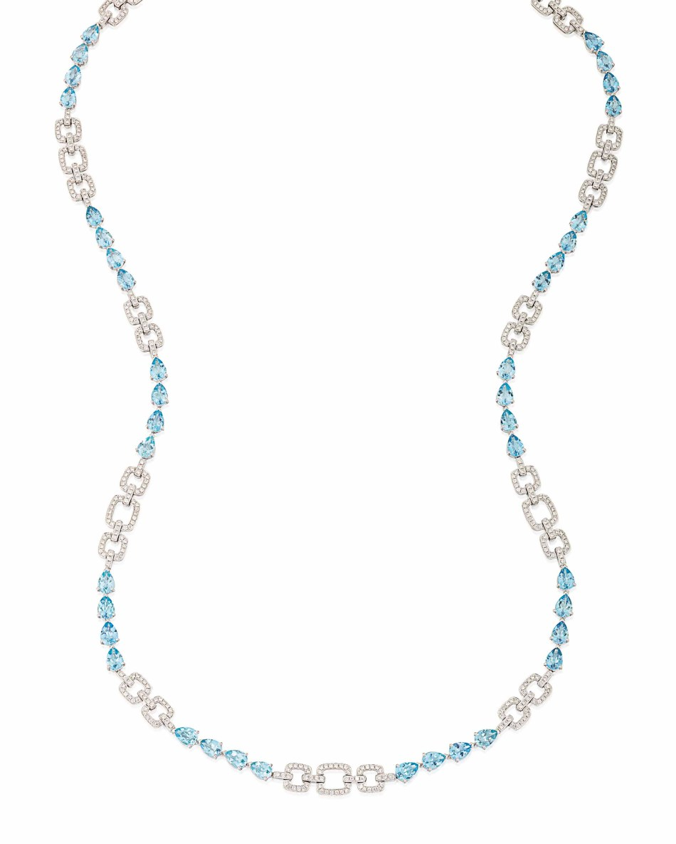 Lot 78 (aquamarine_and_diamond_necklace)