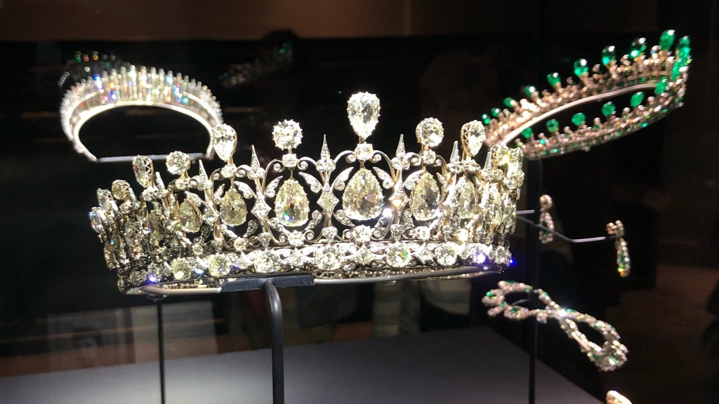 Royal Tiaras i Kensington Palace High Jewellery Dream