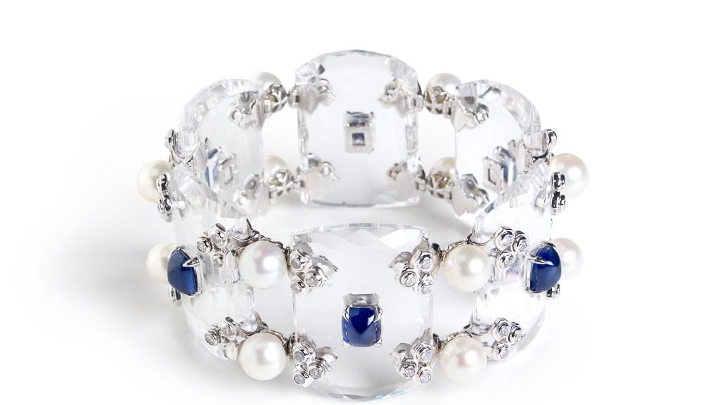 Fabio Salini Crystal Bracelet