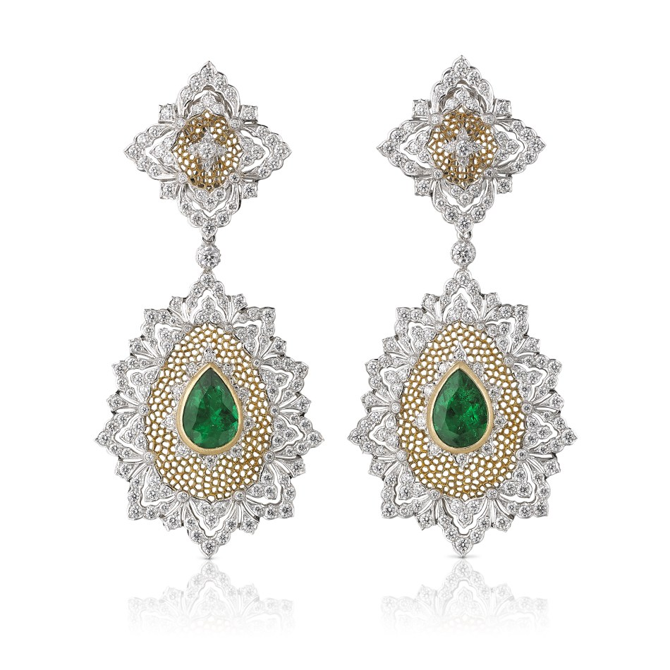 Buccellati Esmeralda earrings