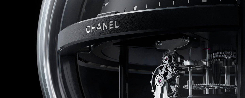 Chanel Monsieur de Chanel Chronosphère Clock
