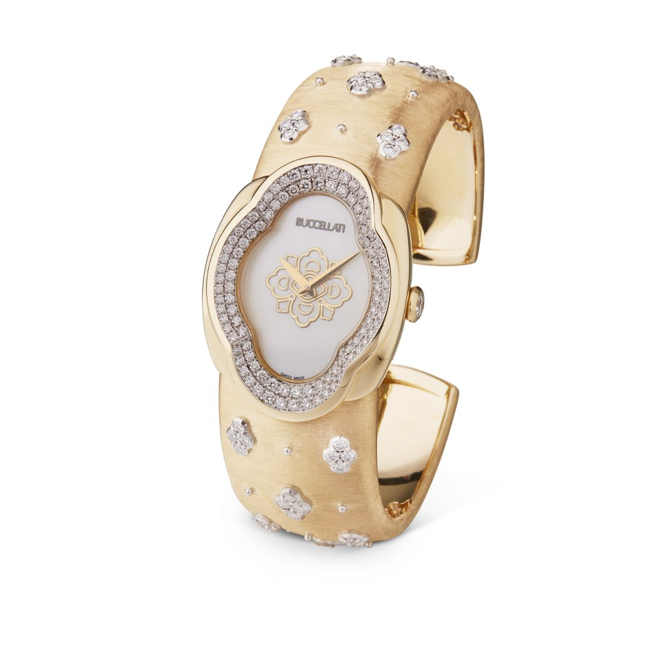Buccellati Opera AB high jewellery watch