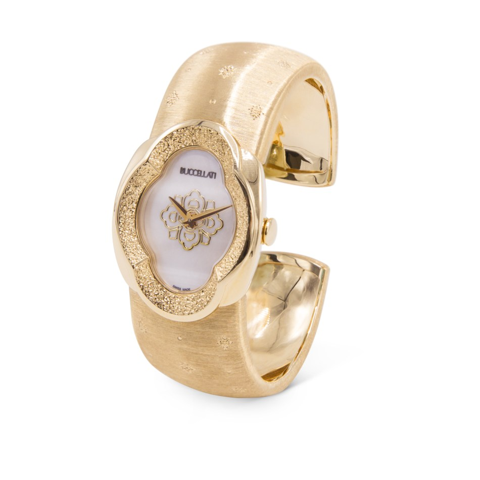 Buccellati Opera Engraved High Jewellery Watch