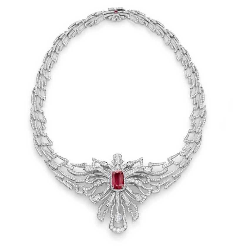 Gübelin Wings-of-a-Dragonfly necklace