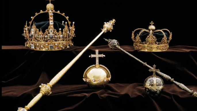 Sweden's crown jewels