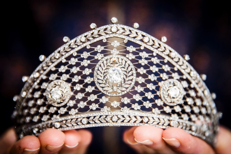 Diamond tiara, attributed to Fabergé, circa 1903