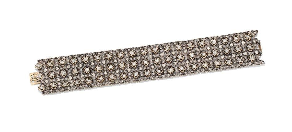 A diamond bracelet, by Mario Buccellati