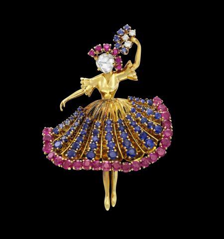 Van Cleef & Arpels. Ballerina Clip