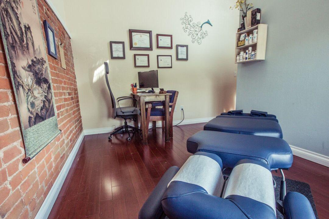 Treatment room at Katas Integrative Health