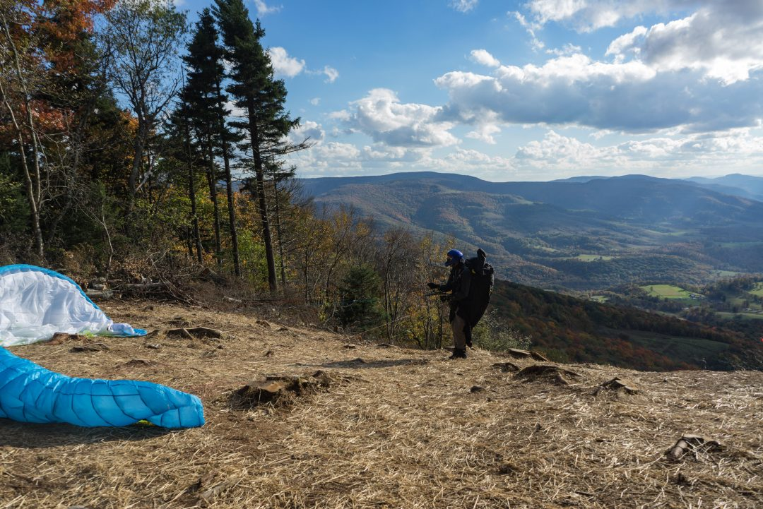Paragliding at Canaan Valley