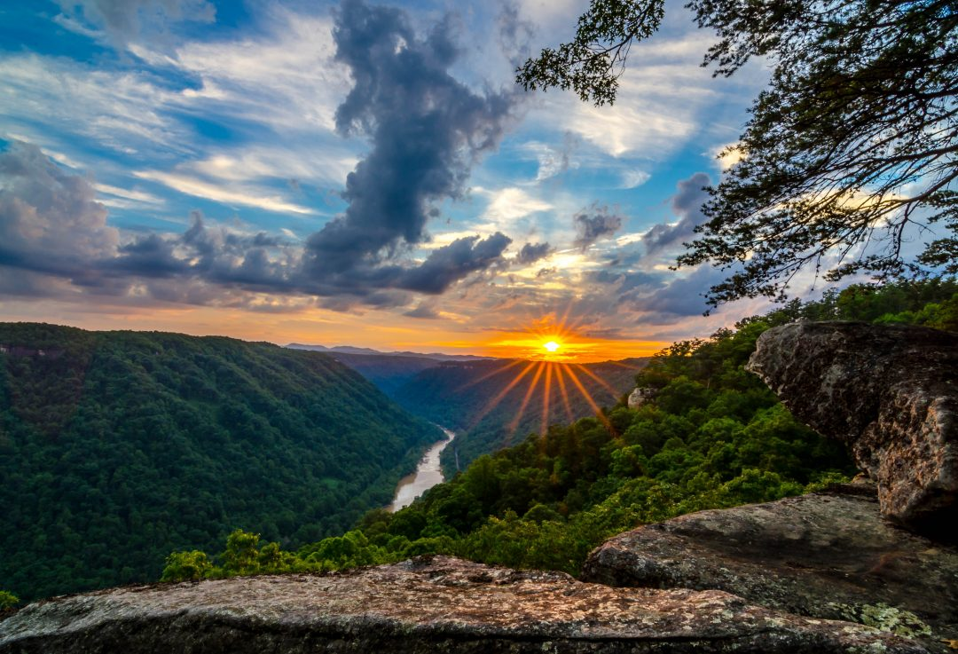 Beauty Mountain at New River Gorge
