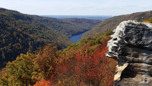 Raven Rock at Coopers Rock State Forest