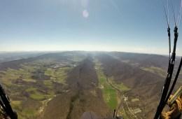 Paragliding in West Virginia