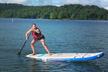Stand Up Paddle Board Summersville Lake