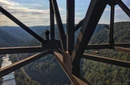 Bridge Day Base Jump