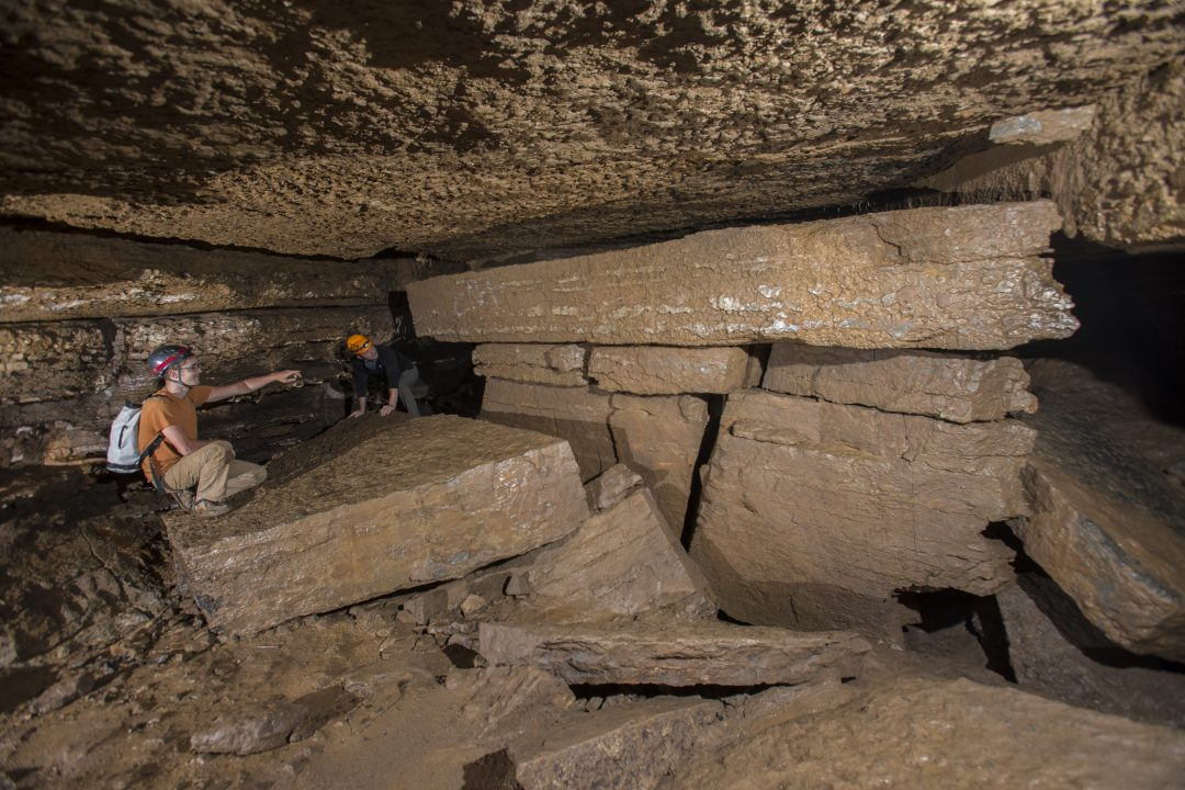 Cave in Pendleton County WV