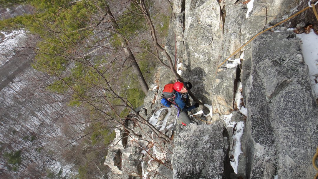 Winter Training at Seneca Rocks
