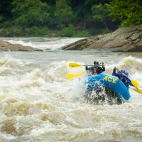 Big Water: New River Gorge Spring Rafting