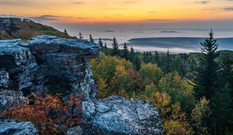 Bear Rocks: Sunrise