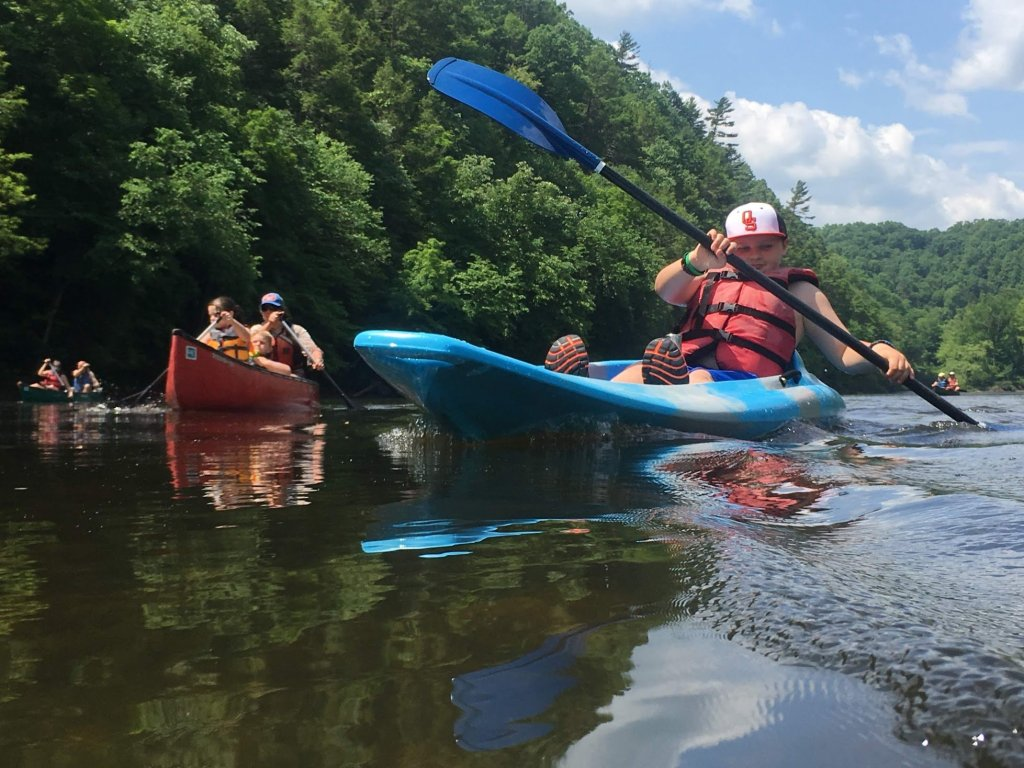 Outdoor Education: Cheat River kayaking