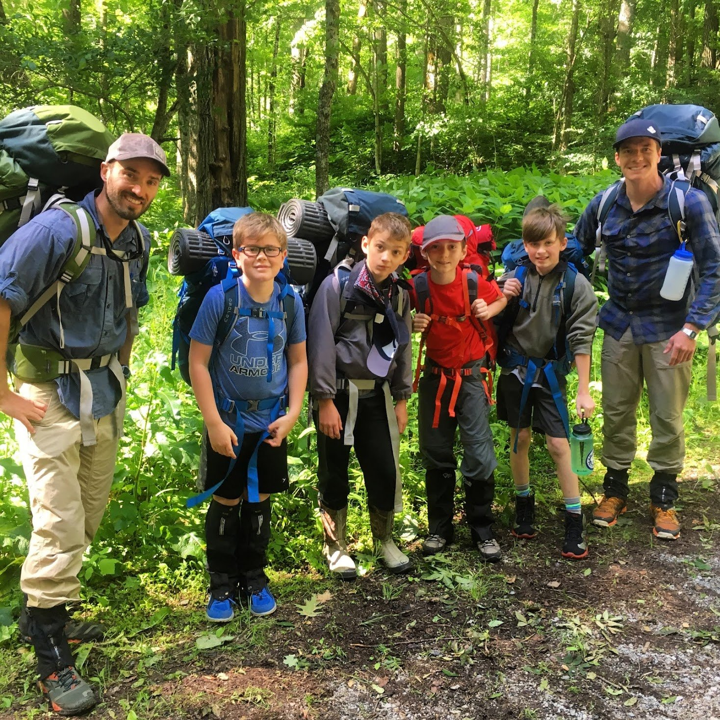 Outdoor Education: Backpacking
