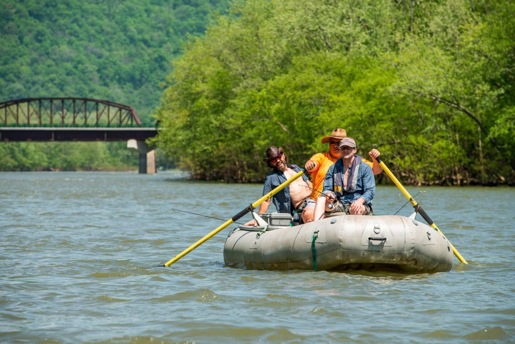 New River Gorge National Park: Raft Fishing