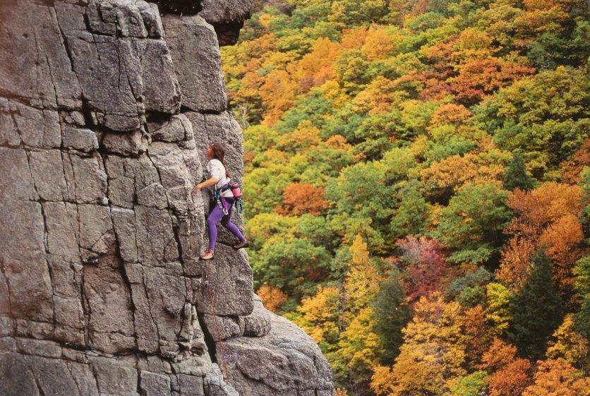 Leading Ladies of West Virginia: Candy Corner Climbing