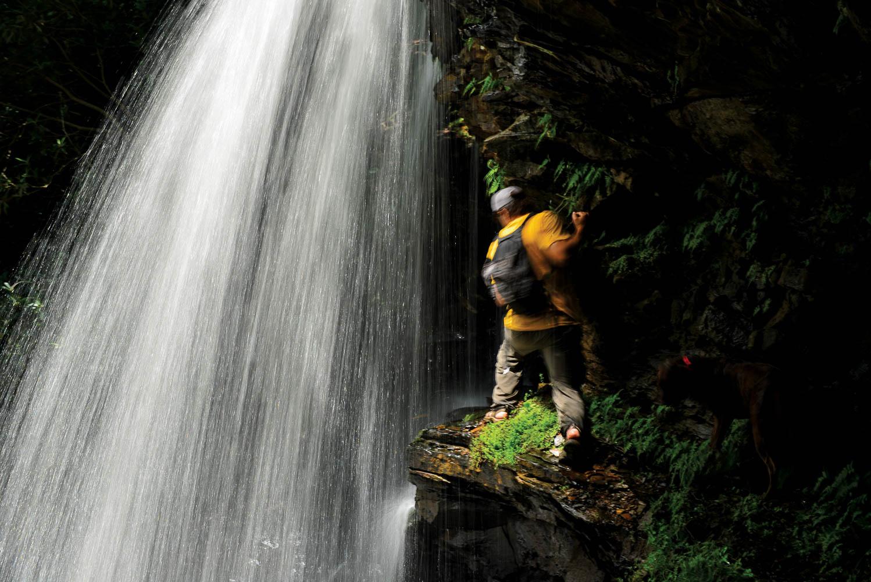 Creekyoneering - Waterfall Scaling