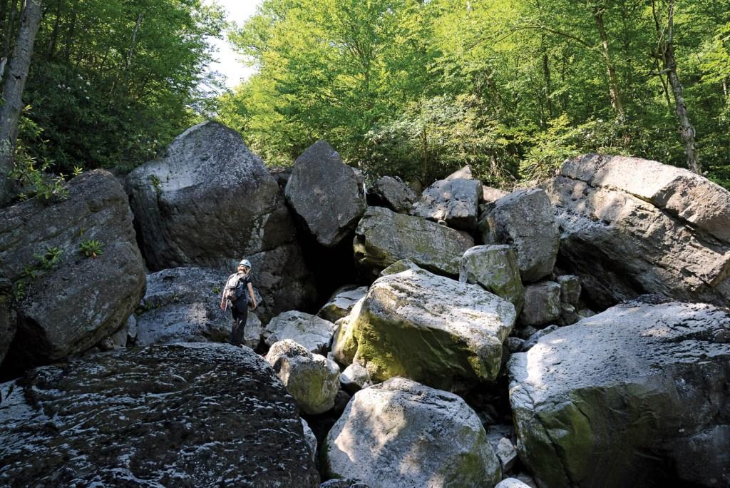 Creekyoneering - Big Run Boulders