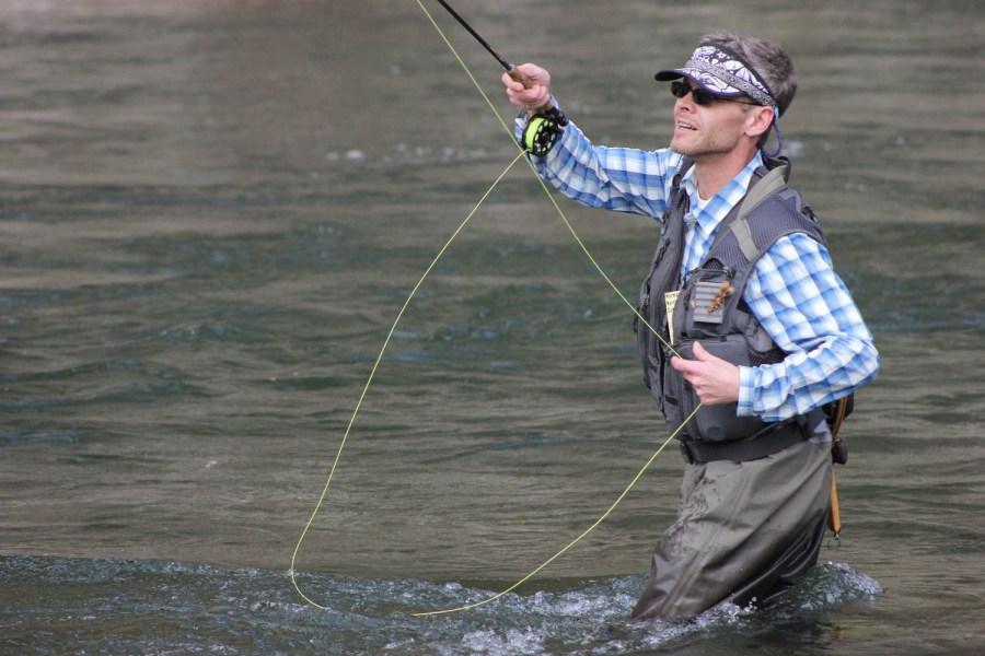 Wade Fishing - Pro Fishing Guide