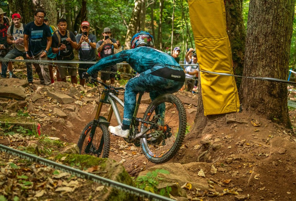 Amaury Pierron Snowshoe Downhill