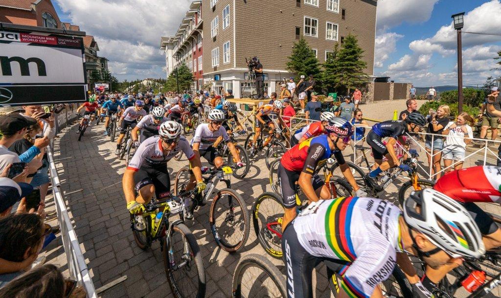 2021 Mountain Bike World Cup: Men's XC Start