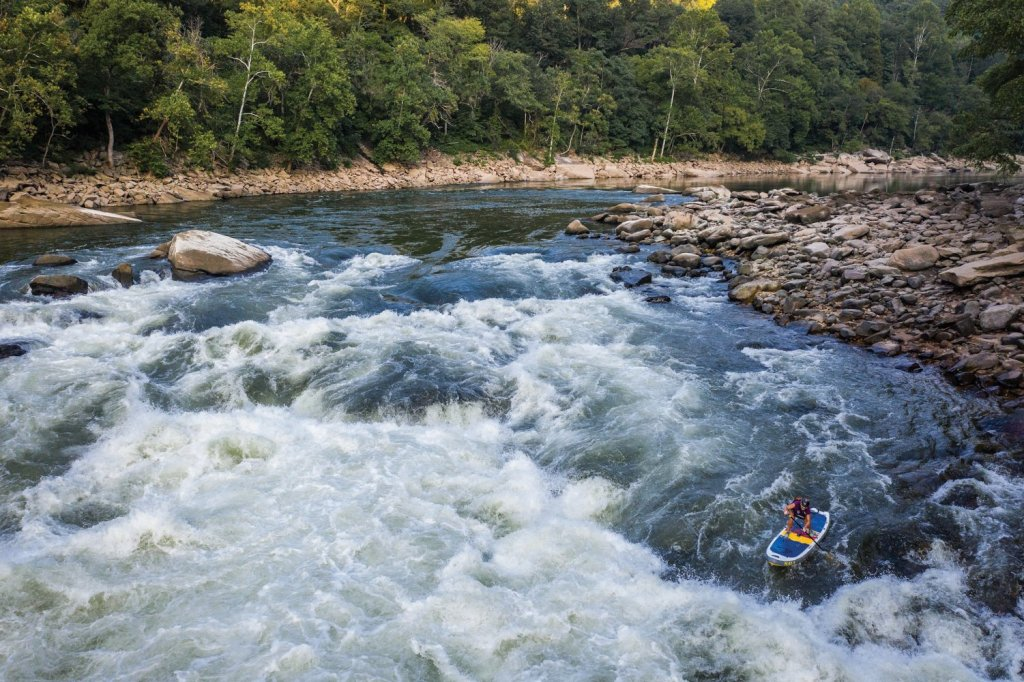 Melanie Sieler Hames Paddleboard Descent