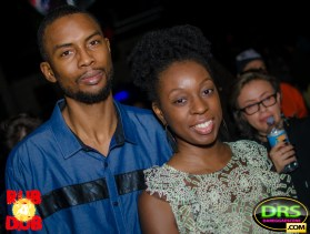 photo of Highlanda's Kahlil Wonda with Mrs. Wonda at RubADubATL Bob Marley Tribute