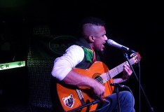 Dawit Selassie live acoustic reggae session at Rub-A-Dub ATL, Sunday, March 12, 2017