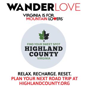 Highland County, Virginia, travel, tourism WanderLove, Virginia Tourism Corporation