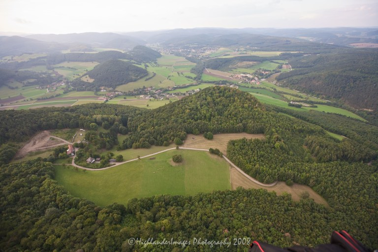 Hot Air Balloon Trip, Mehrling, Austria