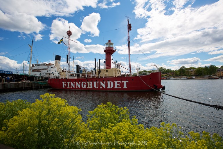 Light ship at Vasa Museum, Stockholm, Sweden.