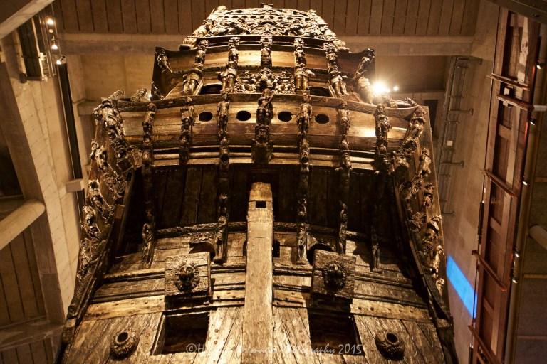 Vasa Museum, Stockholm, Sweden.