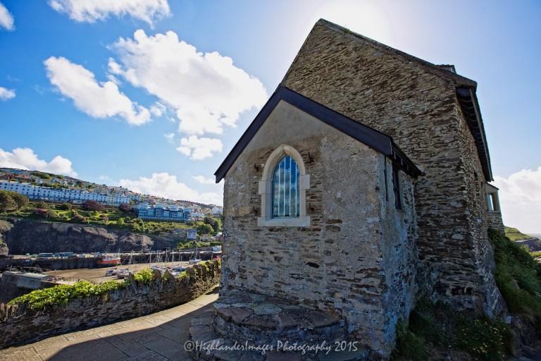 St. Nicholas Chapel, Ilfracombe, Devon, UK.