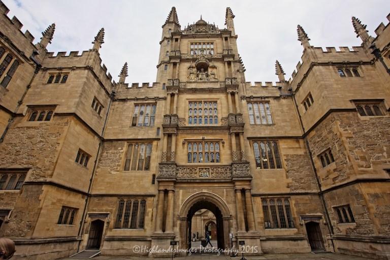 Bodleian Library, Oxford University, Oxford, UK.