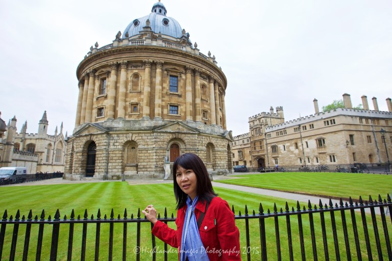 Radcliffe Camera, Oxford University, Oxford, UK.