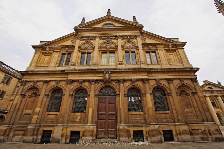 The Sheldonian Theatre, Oxford University, Oxford, UK.